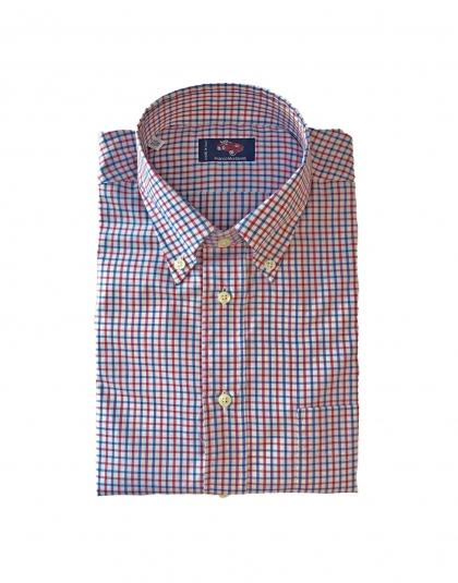 Camicia cotone quadretti