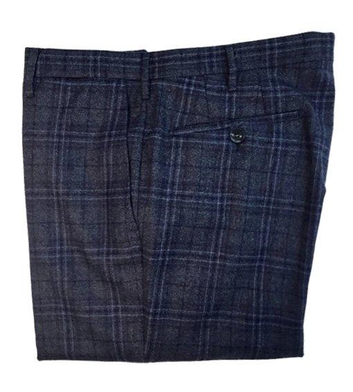 Pantaloni Rota pura lana quadri (3)