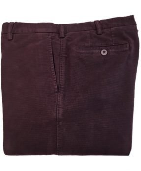 Pantaloni Rota fustagno quadretti