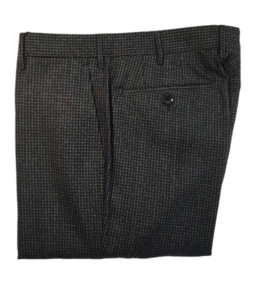 Pantaloni Rota pura lana quadretti