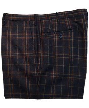 Pantaloni Rota pura lana quadri