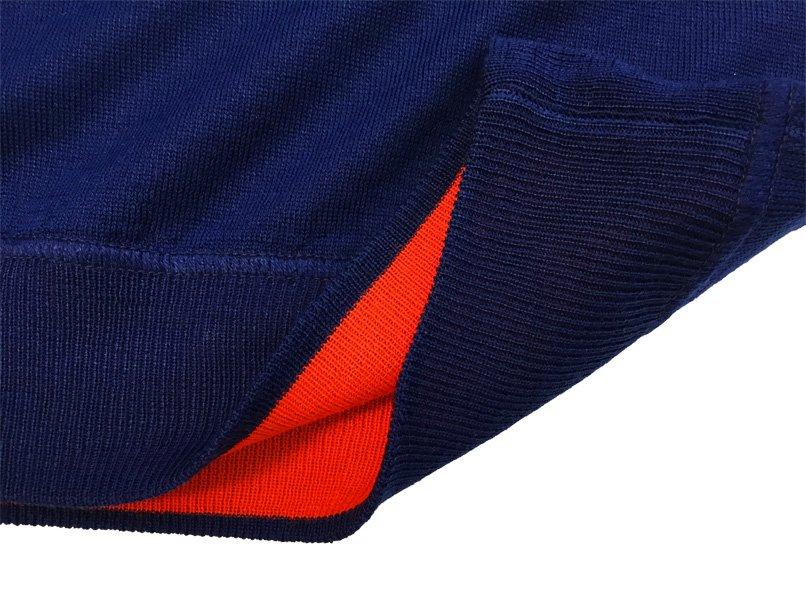 Maglia girocollo lana K-Wool - blu dettaglio2