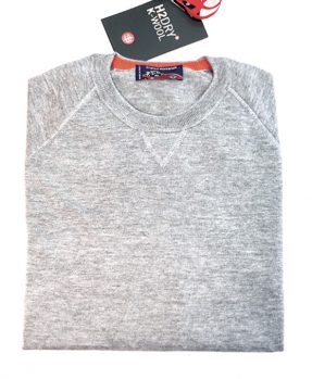 Maglia girocollo lana K-Wool - grigio