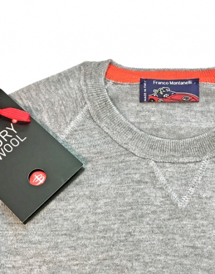 Maglia girocollo lana K-Wool
