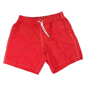Shorts mare rosso