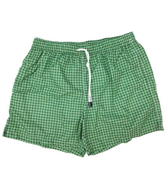 Shorts mare Fedeli fantasia verde
