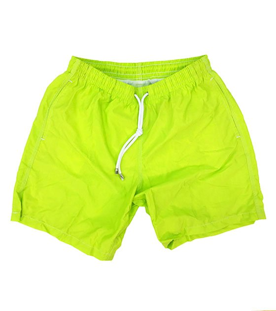 Shorts mare giallo