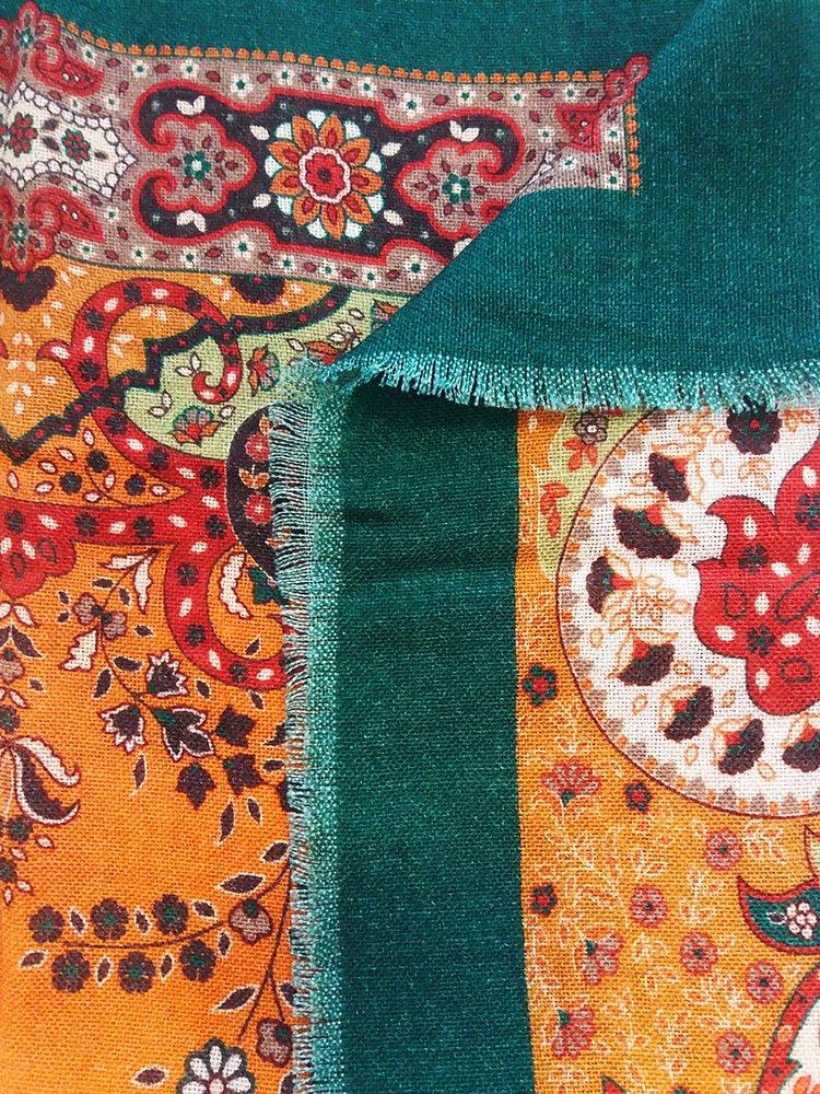 Sciarpa lana stampe fantasia1