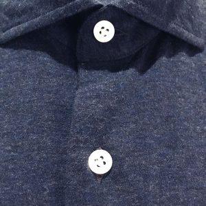 SONRISA Camicia jersey blu1