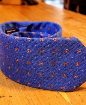 Cravatta puro cotone