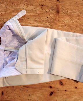 Rota pearl cotton trousers
