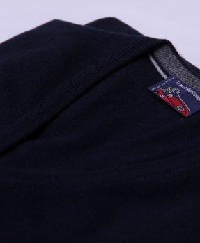 Pullover cashmere blu 598