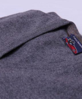 Pullover cashmere grigio
