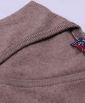 Pullover cashmere sabbia