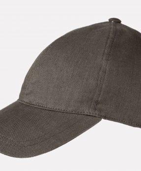 Linen baseball cap AIRE