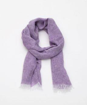 Linen scarf Aire lilla