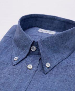 Linen shirt aire per Franco Montanelli