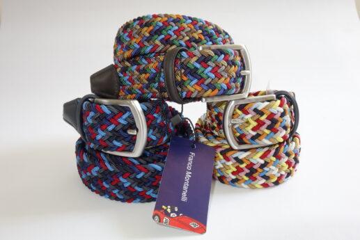 Cinture Franco Montanelli multicolor