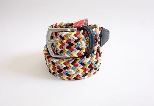 Cintura elastica multicolor gialla
