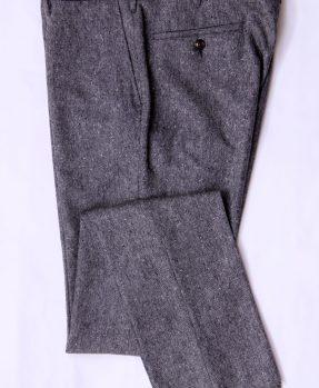 Pantaloni grigi tweed Rota