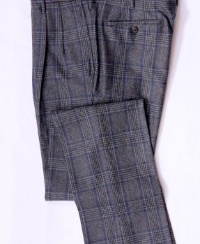 Pantaloni azzurri quadri Rota